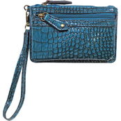 Dezine News Accessories Vintage Croco Wristlet
