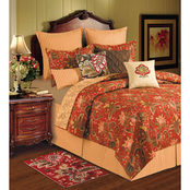 C&F Home Constantine Square Embroidered Pillow