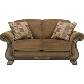 Signature Design by Ashley Montgomery Mocha Loveseat