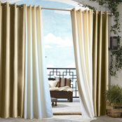 Commonwealth Home Fashions Gazebo Outdoor Grommet Top Panel