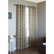 Commonwealth Home Fashions Mayan Grommet Top Curtain Panel