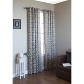 Commonwealth Home Fashions Mayan Grommet Top Window Panel