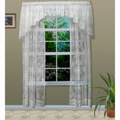 Commonwealth Home Fashions Mona Lisa Tailored Window Panel Shell