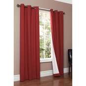 Commonwealth Home Fashions Thermalogic Weathermate Grommet Top Curtain Panels 2 pk.