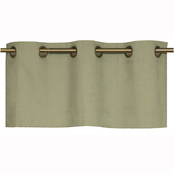 Commonwealth Home Fashions Thermalogic Weathermate Grommet Top Valance 40 X 15