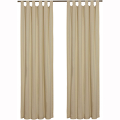 Commonwealth Home Fashions Thermalogic Weathermate Tab Top Window Panels 2 pk.