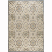 Nourison Classic Medallion Carved Rug