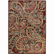 Nourison Paisley Charm Carved Rug
