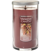 Yankee Candle Autumn Wreath Medium Perfect Pillar Candle