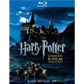 Harry Potter: Complete 8-Film Collection (Blu-ray + DVD)