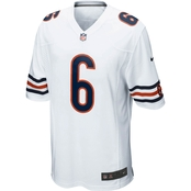 Nike NFL Chicago Bears Men's Jay Cutler White Game Jersey