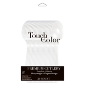Touch of Color Clear Premium Spoons, 24 pk.