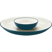 Noritake Colorwave Collection Chip and Dip