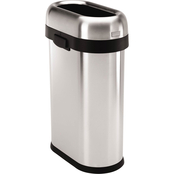 simplehuman Slim Open Trash Can