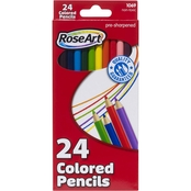 RoseArt Colored Pencils 7 in., 24 pk.