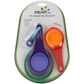 Squish 4 Pc. Collapsible Measuring Cup Set