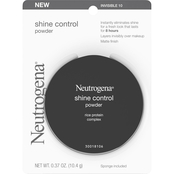 Neutrogena Shine Control Powder, Invisible 10, .37 oz.