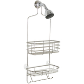 Zenith Products Chrome Over the Shower Head Caddy
