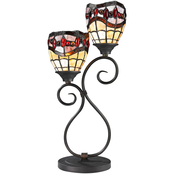 Dale Tiffany Fall River Tiffany Style Table Lamp