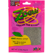 Petmate Fat Cat Zoom Around the Room Organic Catnip Cat Toy