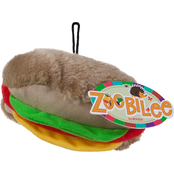 Petmate Zoobilee Plush Hot Dog Medium Dog Toy