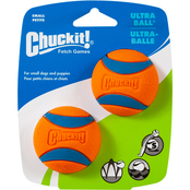 Petmate Chuckit! Ultra Ball Small Dog Toys, 2 pk.