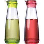 Prodyne Feliz 2 pc. Oil and Vinegar Bottle Set