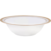 Noritake Odessa Gold 32 oz. Round Vegetable/Salad Bowl