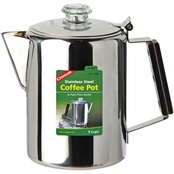 Coghlans Stainless Steel 9 Cup Coffee Pot