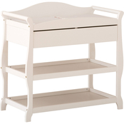 Storkcraft Aspen Changing Table Cognac