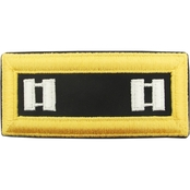 Army CPT Chaplain Male Shoulder Straps