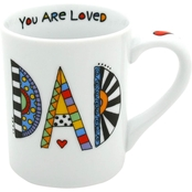 Enesco Our Name is Mud Cuppa Doodle Dad Mug