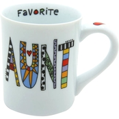 Enesco Our Name is Mud Cuppa Doodle Aunt Mug