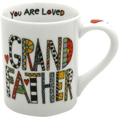 Enesco Our Name is Mud Cuppa Doodle Grandfather Mug