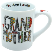 Enesco Our Name is Mud Cuppa Doodle Grandmother Mug