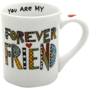 Enesco Our Name is Mud Cuppa Doodle Friend Mug