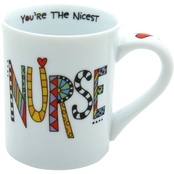 Enesco Our Name is Mud Cuppa Doodle Nurse Mug