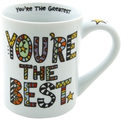 Enesco Our Name is Mud Cuppa Doodle Best Mug