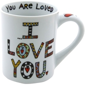 Enesco Our Name is Mud Cuppa Doodle I Love Mug