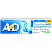 A+D Diaper Rash Cream with Zinc and Dimethicone