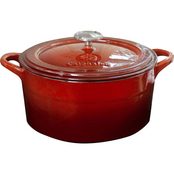 Simply Calphalon Enamel Cast Iron 7 qt. Dutch Oven