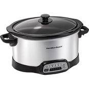 Hamilton Beach Programmable 6 Quart Slow Cooker