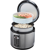 Aroma Sensor Logic 20 Cup Rice Cooker and Food Steamer