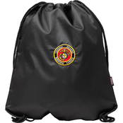 Star Accessories Military Insignia Drawstring Backpack, US Marine Corps