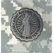 Ira Green Army Badge National Guard Recruiting And Retention