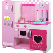 Classic Toy Pink Kitchen Activity Toy