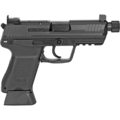 HK HK45C Tactical 45 ACP 4.57 in. Threaded Barrel 10 Rds 2-Mags Pistol Black