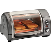 Hamilton Beach Easy Reach Roll Top Toaster Oven