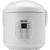 Aroma 8 Cup Digital Cool-Touch Rice Cooker