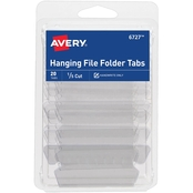 Avery Insertable Hanging File Folder Tabs, 20 pk.